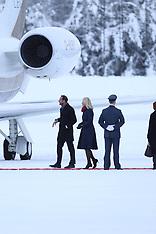 Duke and Duchess arrive in Oslo - 1 Feb 2018