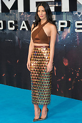 © Licensed to London News Pictures. 09/05/2016.OLIVIA MUNN attends the global fan screening of X-Men: Apocalypse.  London, UK. Photo credit: Ray Tang/LNP