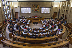 © Licensed to London News Pictures . 13/07/2016. Manchester , UK . Proceedings at a Manchester City Council meeting , at the Council Chamber in the Town Hall in Manchester . Photo credit: Joel Goodman/LNP
