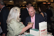 ADAM HELLEIKER, Launch of Simon Sebag-Montefiore new novel, Red Sky at Noon. Waterstone's. Kensington High St. London. 14 June 2017
