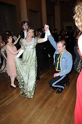 KYM ERLICH and CAPT.HUGH BEATTIE dancing at the 13th annual Russian Summer Ball held at the Banqueting House, Whitehall, London on 14th June 2008.<br /><br />NON EXCLUSIVE - WORLD RIGHTS