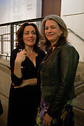LUCY COHU; KERRY FOX, Press night for Edwards Albee's A Delicate Balance at the Almeida Theatre. London. 12 May 2011. <br /> <br />  , -DO NOT ARCHIVE-© Copyright Photograph by Dafydd Jones. 248 Clapham Rd. London SW9 0PZ. Tel 0207 820 0771. www.dafjones.com.