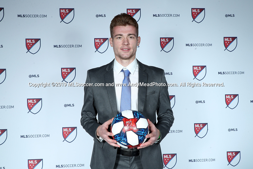 CHICAGO, IL - JANUARY 11: Lennart Hein was taken with the 47th overall pick by the Portland Timbers. The MLS SuperDraft 2019 presented by adidas was held on January 11, 2019 at McCormick Place in Chicago, IL.