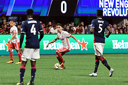 September 13, 2017 - Atlanta, GA, USA - Atlanta, Georgia - Wednesday September 13, 2017: Atlanta United defeated the New England Revolution, 7-0, in Mercedes Benz Stadium, in front of a sellout crowd of 42,511, extending the team's home unbeaten streak to eight matches. (Credit Image: © Perry Mcintyre/ISIPhotos via ZUMA Wire)