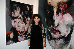 Artist LITA CABELLUT at a private view of paintings by her and Russian artist Yuri Kuper at Opera Gallery, 134 New Bond Street, London on 2nd April 2008.<br /><br />NON EXCLUSIVE - WORLD RIGHTS