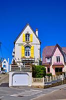 France, Morbihan (56), côte sauvage, Presqu'île de Quiberon, Quiberon, Port Maria, ses demeures de charme // France, Morbihan (56), Wild coast, Quiberon peninsula, Quiberon, Port Maria, its charming homes