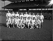 18/03/1956<br /> 03/18/1956<br /> 18 March 1956<br /> Ireland v Combined Universities at Croke Park, Dublin. Combined Universities Team.