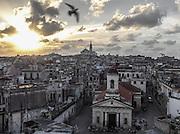 Sunset over Habana Vieja, Cuba.