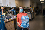 Kristin Smith poses for a portrait in the Orthotics, Prosthetics and Seating department at Gillette Children's Specialty Healthcare in Saint Paul, Minnesota on Thursday, June 25, 2020.