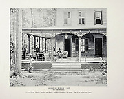 """General Grant, Doctors Douglas and Shrady, and Mrs. Grant form the group. One of the last pictures taken from The American Civil War book and Grant album : """"art immortelles"""" : a portfolio of half-tone reproductions from rare and costly photographs designed to perpetuate the memory of General Ulysses S. Grant, depicting scenes and incidents in connection with the Civil War Published  in Boston and New York by W. H. Allen in 1894"""