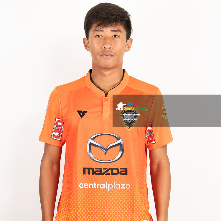 THAILAND - JUNE 25: Romran Rodwinitch #42 of Nakhonratchasrima Mazda FC on June 25, 2019.<br /> .<br /> .<br /> .<br /> (Photo by: Naratip Golf Srisupab/SEALs Sports Images/MB Media Solutions)