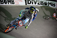 #33 (GEORGE Dani) USA at the UCI BMX Supercross World Cup in Manchester, UK