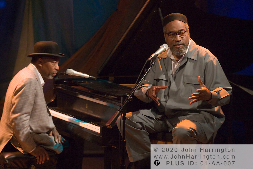 """Gamble and Huff, a songwriting and producing team that are considered pioneers of """"Philadelphia Soul,"""" performed at XM as a part the """"Artist Confidential"""" series on Friday July 28, 2006."""
