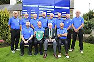 Limerick Golf Club Team Back (LtoR)Hugh Conlon, Paul Byrne, Edgar Ahern, Pat Lee, Ger Naughton, Maurice Hickey, Eamon Grimes,  Michael Ahern,  <br /> Front (LtoR) Gavin Cross, team captain Brian Morris, Jim McGovern President GUI, Gerard Gleeson after the All Ireland Four Ball Interclub Final, Roe Park resort, Limavady, Derry, Northern Ireland. 15/09/2019.<br /> Picture Fran Caffrey / Golffile.ie<br /> <br /> All photo usage must carry mandatory copyright credit (© Golffile | Fran Caffrey)<br /> <br /> Team Details to Follow: