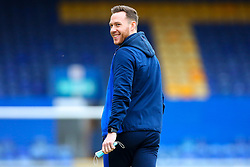 Former Mansfield Town play Gethin Jones of Bolton Wanderers smiles as he inspects the pitch at the One Call Stadium - Mandatory by-line: Ryan Crockett/JMP - 17/02/2021 - FOOTBALL - One Call Stadium - Mansfield, England - Mansfield Town v Bolton Wanderers - Sky Bet League Two