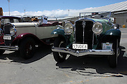 Vintage car show,  Napier, New Zealand