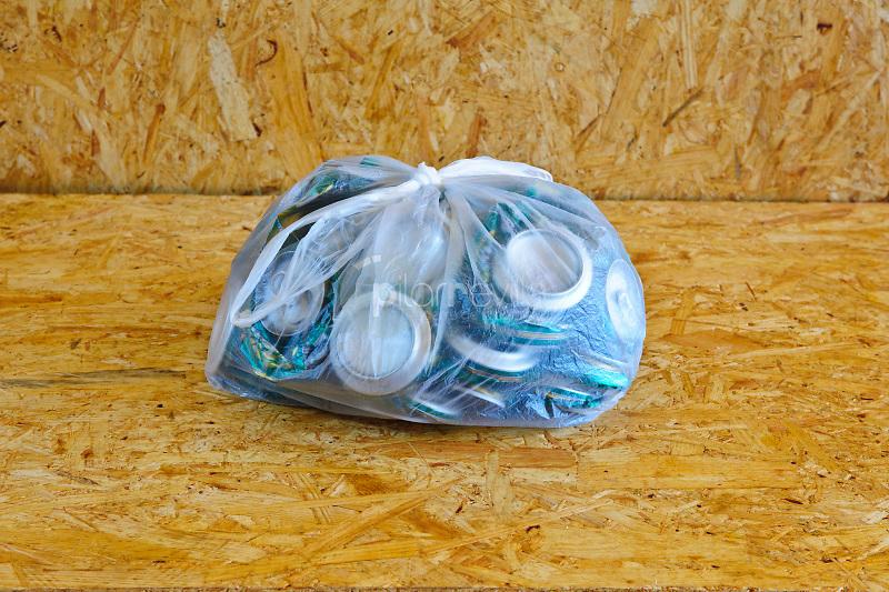 Latas para reciclar. ©ANTONIO REAL HURTADO / PILAR REVILLA