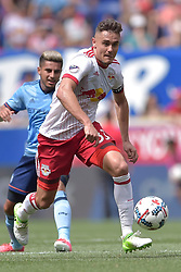 June 24, 2017 - Harrison, New Jersey, U.S - New York Red Bulls defender AARON LONG (33) in action at Red Bull Arena in Harrison New Jersey New York City FC defeats New York Red Bulls 2 to 0 (Credit Image: © Brooks Von Arx via ZUMA Wire)