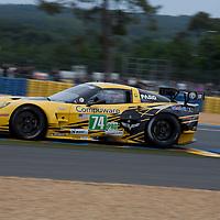#74 Chevrolet Corvette C6 ZR1, Corvette Racing, Drivers: Gavin/Milner/Westbrook, Class: LMGTE Pro, Le Mans 24H, 2012