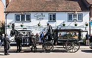 Kevin Funeral, Harpenden  20th September 2019