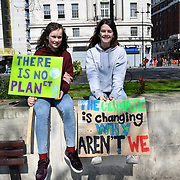 Hundreds of activists road blocked five exit of This Is An Emergency: Marble Arch and begin building camp for the International Rebellion UK - Shut Down London at Marble Arch on 15 April 2019, London, UK.