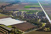Nederland, Flevoland, Noordoostpolder (NOP), 01-05-2013; kassencomplexen in de Noordoostpolder. Lindenweg ten westen van Luttelgeest<br /> Cultivation under glass and farmland near the village of Luttelgeest in the polder (Noordoostpolder).<br /> luchtfoto (toeslag op standard tarieven)<br /> aerial photo (additional fee required)<br /> copyright foto/photo Siebe Swart