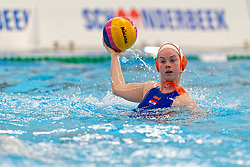 Maud Koopmans #14 of Netherlands in action during the friendly match Netherlands vs USA on February 19, 2020 in Amerena Amersfoort.