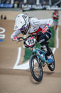 #113 (SIMPSON Molly) CAN at Round 1 of the 2020 UCI BMX Supercross World Cup in Shepparton, Australia