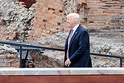 26.05.2017, Taormina, ITA, 43. G7 Gipfel in Taormina, im Bild US Präsident Donald Trump // US President Donald Trump during the 43rd G7 summit in Taormina, Italy on 2017/05/26. EXPA Pictures © 2017, PhotoCredit: EXPA/ Johann Groder