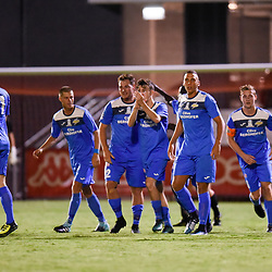 BRISBANE, AUSTRALIA - JANUARY 11:  during the Kappa Silver Boot Group D match between Ipswich Knights and SWQ Thunder on January 11, 2018 in Brisbane, Australia. (Photo by Patrick Kearney)