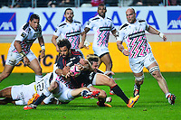 Yoann HUGET - 24.04.2015 - Stade Francais / Stade Toulousain - 23eme journee de Top 14<br />