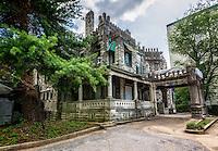 Ashlar Hall in Memphis, TN. Prince Mongo's Castle.