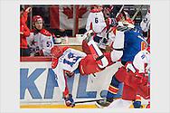 Jokerit - ZSKA Moscow. KHL. Helsinki, October 4, 2015.