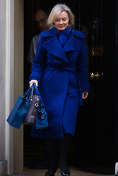 London, March 24th 2015. Members of the Cabinet gather at Downing street for their weekly meeting. PICTURED: Elizabeth Truss, Secretary of State for Environment, Food and Rural Affairs
