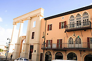 Israel, Jaffa, A renovated building in the clock square