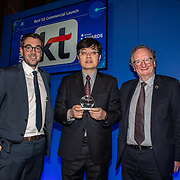 KT 5G winner of Best 5G Commercial Launch of the 5G Awards ceremony at Drapers' Hall, on 12 June 2019, London, UK.