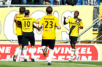 nac - heerenveen , breda 30-08-2009  , eredivisie voetbal , seizoen 2009-2010 . matthew amoah na treffer