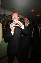 MAXIMILLION COOPER at a dinner in aid of Eve Appeal, Gynaecology Cancer research Fund held at Nobu, The Metropolitan Hotel, Park Lane, London on 3rd September 2007.<br /><br />NON EXCLUSIVE - WORLD RIGHTS