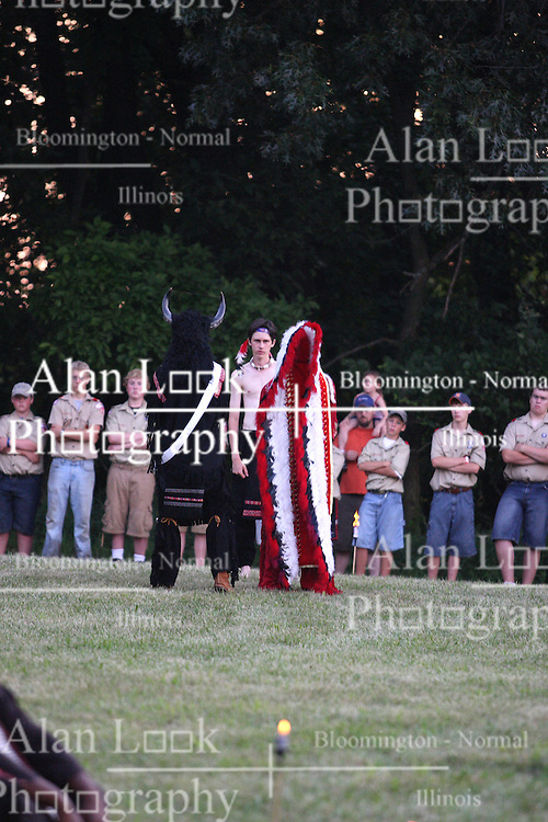 30 June 2007:  Ingersoll Scout Reservation.  General images and Order of Arrow Pow-wow and Call-out