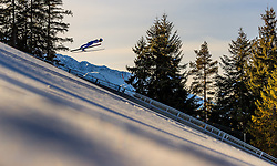 28.01.2017, Casino Arena, Seefeld, AUT, FIS Weltcup Nordische Kombination, Seefeld Triple, Skisprung, im Bild Francois Braud (FRA) // Francois Braud of France in action during his Trail Jump of Skijumping of the FIS Nordic Combined World Cup Seefeld Triple at the Casino Arena in Seefeld, Austria on 2017/01/28. EXPA Pictures © 2017, PhotoCredit: EXPA/ JFK