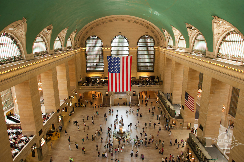 Main gallery of Grand Central Terminal, NYC.