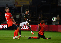 Football - 2020 / 2021 EFL Carabao Cup - Round Three - Luton Town vs Manchester United<br /> <br /> Manchester United's Jesse Lingard fires wide, at Kenilworth Road.<br /> <br /> COLORSPORT/ASHLEY WESTERN