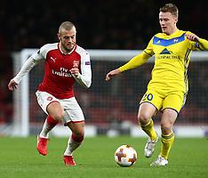 Arsenal v FC BATE Borisov, 7 Dec 2017