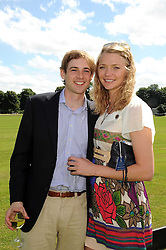 JODIE KIDD and THOMAS GEORGE at the IWC Laureus Polo Cup Day 2008 held at Ham Polo Club, Surrey on 22nd June 2008.<br /><br />NON EXCLUSIVE - WORLD RIGHTS