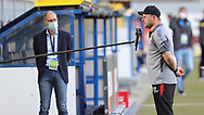 Steffen Baumgart , im Interview during the Paderborn vs Borussia Dortmund Bundesliga match at Benteler Arena, Paderborn, Germany on 31 May 2020.