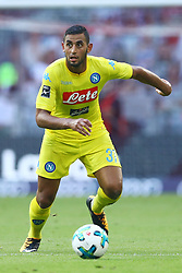 August 1, 2017 - Munich, Germany - Faouzi Ghoulam of Napoli durign the first Audi Cup football match between Atletico Madrid and SSC Napoli in the stadium in Munich, southern Germany, on August 1, 2017. (Credit Image: © Matteo Ciambelli/NurPhoto via ZUMA Press)