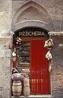 food shop (salumeria) Siena, Tuscany - photograph by Owen Franken