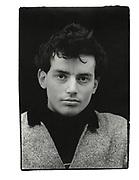 Self-portrait, Jericho workshop, Worcester Place, Oxford. 1981