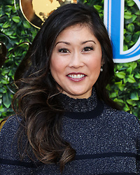 BEVERLY HILLS, LOS ANGELES, CALIFORNIA, USA - JANUARY 04: 7th Annual Gold Meets Golden Event held at Virginia Robinson Gardens and Estate on January 4, 2020 in Beverly Hills, Los Angeles, California, United States. 04 Jan 2020 Pictured: Kristi Yamaguchi. Photo credit: Xavier Collin/Image Press Agency/MEGA TheMegaAgency.com +1 888 505 6342