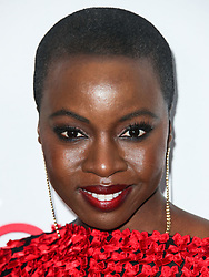 HOLLYWOOD, LOS ANGELES, CA, USA - FEBRUARY 25: 4th Annual Hollywood Beauty Awards held at Avalon Hollywood on February 25, 2018 in Hollywood, Los Angeles, California, United States. 25 Feb 2018 Pictured: Danai Gurira. Photo credit: IPA/MEGA TheMegaAgency.com +1 888 505 6342
